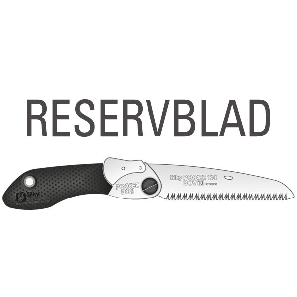 Reservblad SILKY Pocket Boy Svart