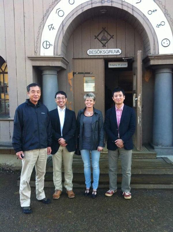 Besök från Japan, 2011.