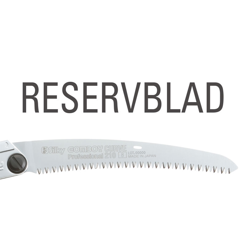 Reservblad SILKY Gomboy Curve Professional